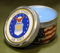 AIR FORCE - TIN CANDLE
