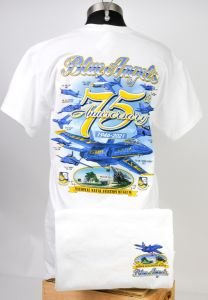 BLUE ANGELS - 75TH ANNIVERSARY TEE