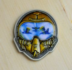 BLUE ANGELS HELMET COIN