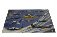 History of Blue Angels Poster