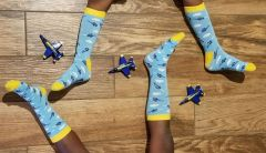 BLUE ANGELS KID SOCKS