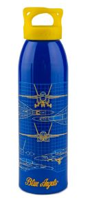 BLUE ANGELS SCHEMATIC  24OZ BOTTLE - 100% USA-MADE