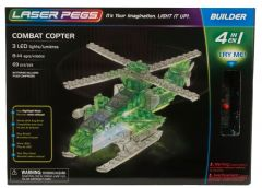 Laser Pegs Combat Copter