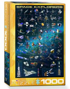 1000 PC. PUZZLE - SPACE EXPLORERS