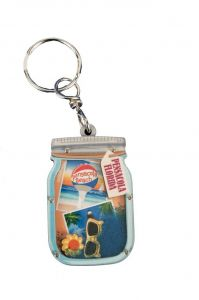 PENSACOLA MEMORY JAR KEY RING