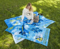 BLUE ANGELS BEACH TOWEL