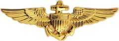 Naval Aviator Wings Car Emblem