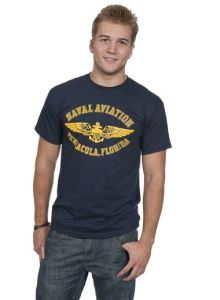Naval Aviator Wing T-shirt