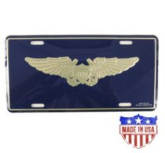 Naval Flight Officer Wing License Plate
