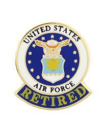 PIN - US AIR FORCE - RETIRED