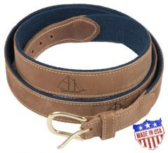 Leather Schooner Belt