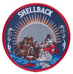 Shellback Patch