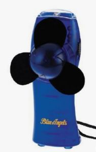 BLUE ANGELS - MINI TURBO FAN / FLASHLIGHT