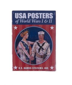 US WWI and WWII Poster Cards