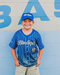 BLUE ANGELS YOUTH SUBLIMATED BASEBALL JERSEY
