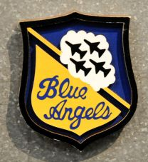 Blue Angels Shield Magnet