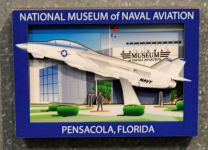 National Naval Aviation Museum Entrance Magnet