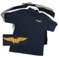 Naval Flight Officer Wing Polo