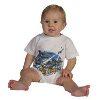 Blue Angels Over the Beach Romper