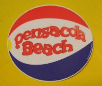 DECAL / STICKER - ICONIC PENSACOLA BEACH BALL
