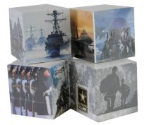 NAVY POST-IT CUBE