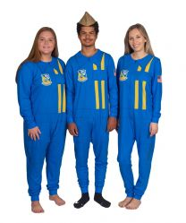 ADULT - BLUE ANGELS PAJAMA FLIGHT SUIT