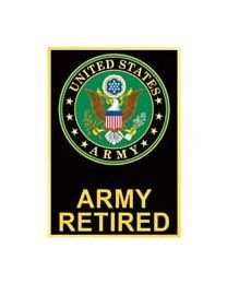 PIN - US ARMY - RETIRED