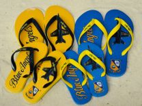 KID'S FLIP-FLOPS - BLUE ANGELS SOLO/CREST