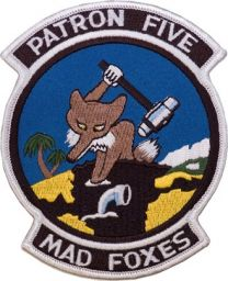 VP-5 Mad Foxes Squadron Patch